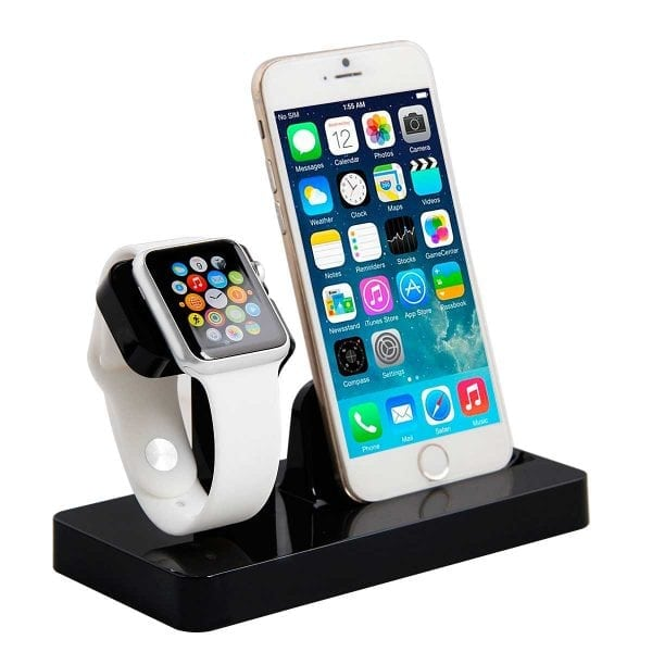 2 in 1 Apple Watch Standaard Iphone houder-004
