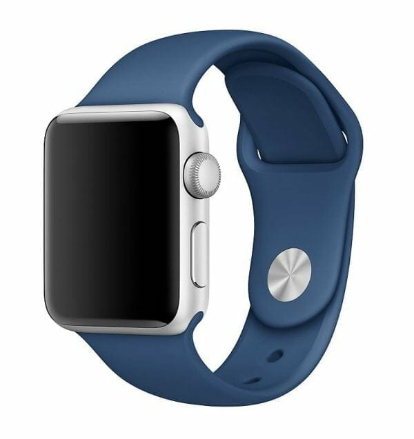 Apple watch bandje ocean blue 007