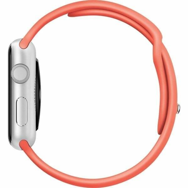 Apple watch bandjes - Apple watch rubberen sport bandje - apricot-003