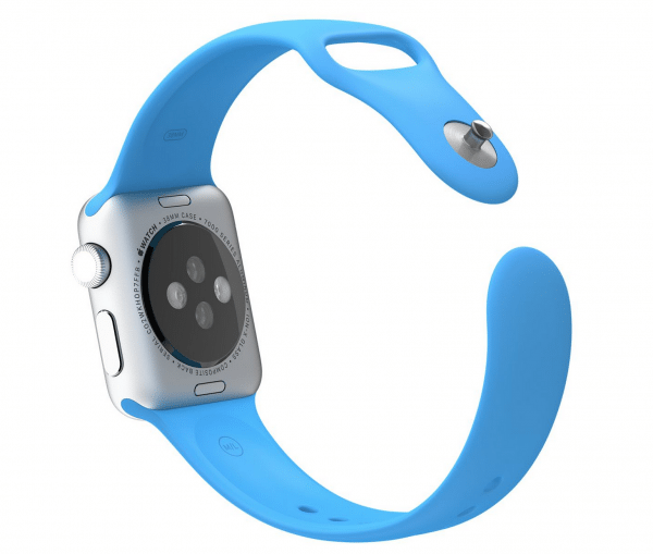 Apple watch bandjes - Apple watch rubberen sport bandje - blauw -003