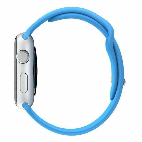 Apple watch bandjes - Apple watch rubberen sport bandje - blauw -007