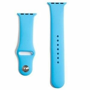 Apple watch bandjes - Apple watch rubberen sport bandje - blauw -009