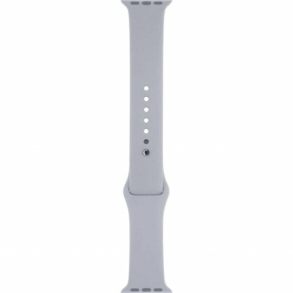 Apple watch bandjes - Apple watch rubberen sport bandje - fog-001