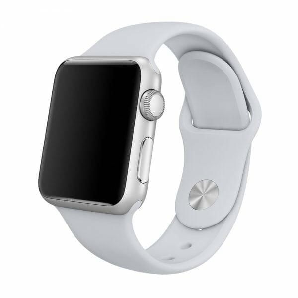 Apple watch bandjes - Apple watch rubberen sport bandje - fog-003
