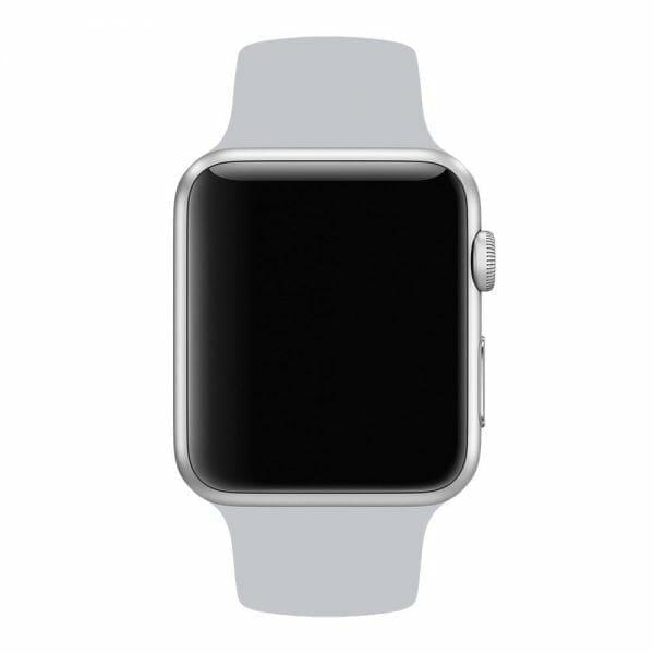 Apple watch bandjes - Apple watch rubberen sport bandje - fog-007