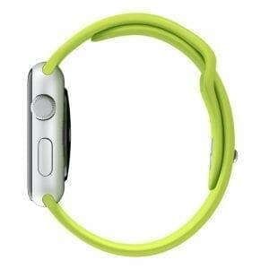 Apple watch bandjes - Apple watch rubberen sport bandje - groen 001