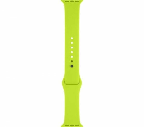 Apple watch bandjes - Apple watch rubberen sport bandje - groen 006
