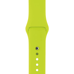 Apple watch bandjes - Apple watch rubberen sport bandje - groen-009