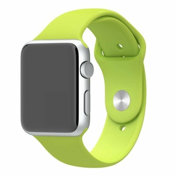 Apple watch bandjes - Apple watch rubberen sport bandje - groen-010