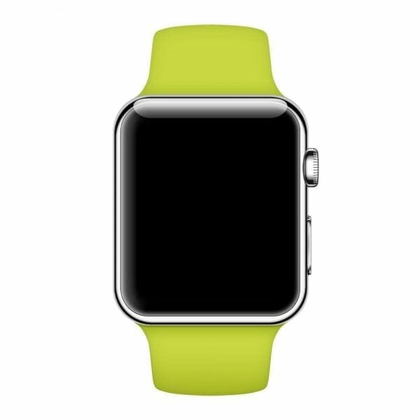 Apple watch bandjes - Apple watch rubberen sport bandje - groen-011