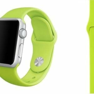 Apple watch bandjes - Apple watch rubberen sport bandje - groen