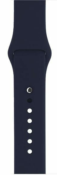 Apple watch bandjes - Apple watch rubberen sport bandje - midnight-blue-008