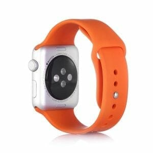 Apple watch bandjes - Apple watch rubberen sport bandje - orange-005