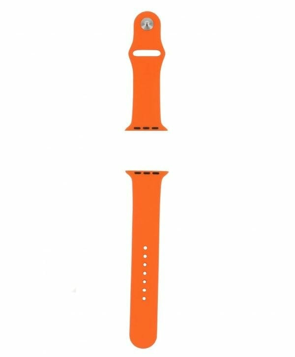 Apple watch bandjes - Apple watch rubberen sport bandje - orange-006