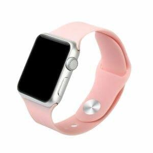 Apple watch bandjes - Apple watch rubberen sport bandje - roze-001