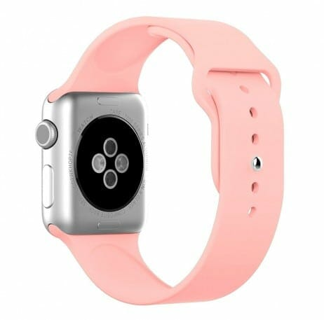 Apple watch bandjes - Apple watch rubberen sport bandje - roze-007
