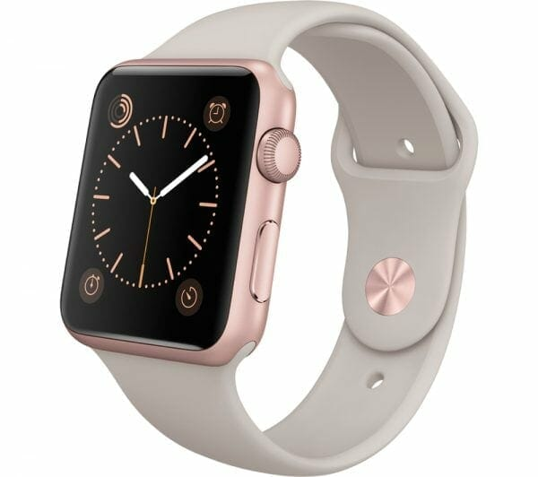 Apple watch bandjes - Apple watch rubberen sport bandje - stone-002