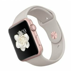 Apple watch bandjes - Apple watch rubberen sport bandje - stone-004