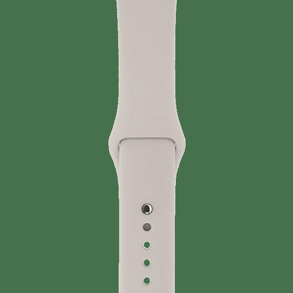 Apple watch bandjes - Apple watch rubberen sport bandje - stone-011