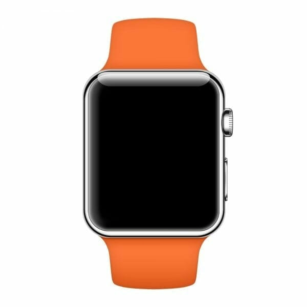 Apple watch bandjes - Apple watch rubberen sport bandje - stone-013