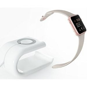 Apple watch stand Iphone houder - wit-004