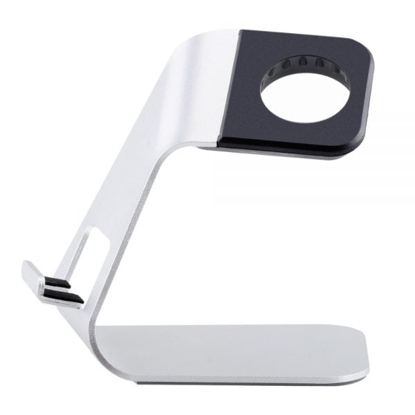 Apple watch stand hoog - Zilver-013