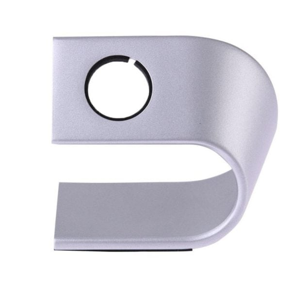 Apple watch stand zilver-001