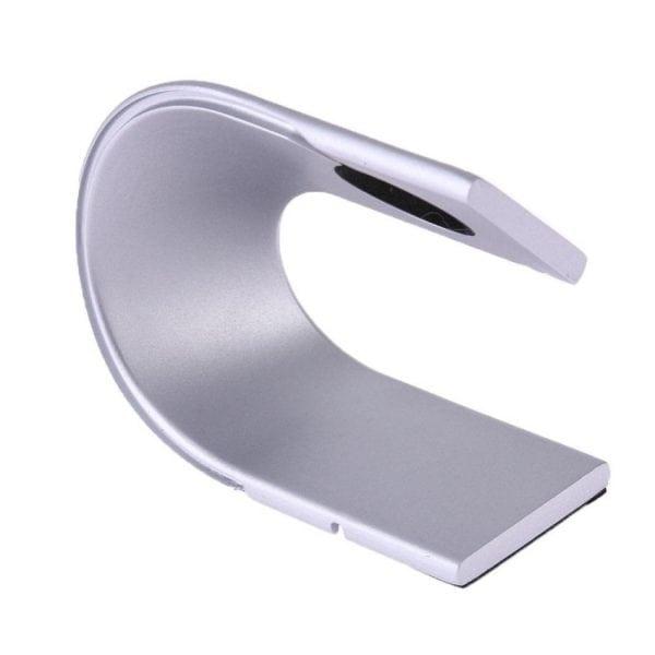 Apple watch stand zilver-005