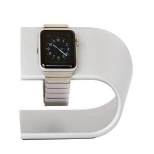 Apple watch stand zilver voor Apple Watch serie 1/2/3