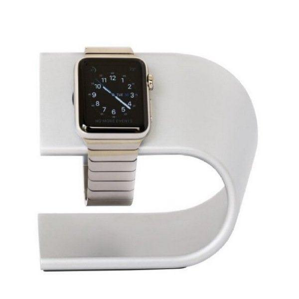 Apple watch stand zilver-007