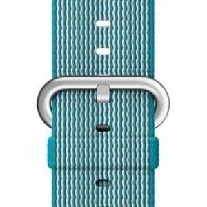 Nylon bandje voor de Apple Watch 38mm Scuba Blue-006