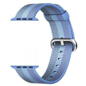 Nylon bandje voor de Apple Watch 38mm Tahoe Blue-001