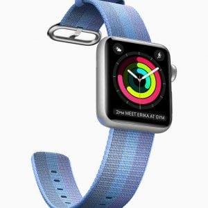 Nylon bandje voor de Apple Watch 38mm Tahoe Blue-002
