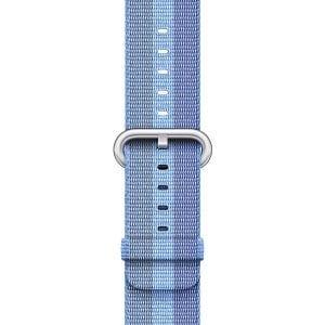 Nylon bandje voor de Apple Watch 38mm Tahoe Blue-004