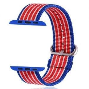 Nylon bandje voor de Apple Watch American Flag-006