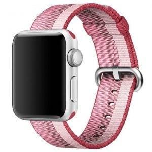 Nylon bandje voor de Apple Watch Berry-006