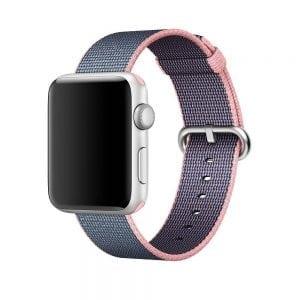 Nylon bandje voor de Apple Watch Licht Roze-001