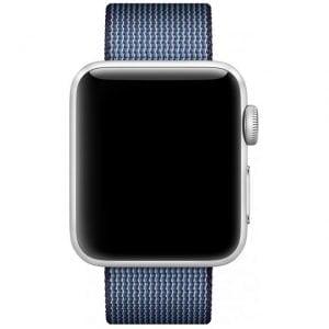Nylon bandje voor de Apple Watch Midnight-003