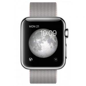 Nylon bandje voor de Apple Watch Pearl-001