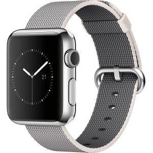 Nylon bandje voor de Apple Watch Pearl-004