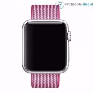 Nylon bandje voor de Apple Watch Roze-004