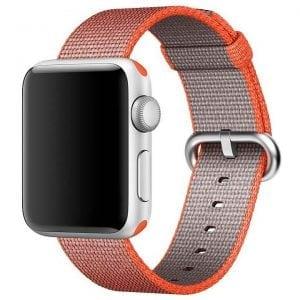 Nylon bandje voor de Apple Watch Space Orange-002