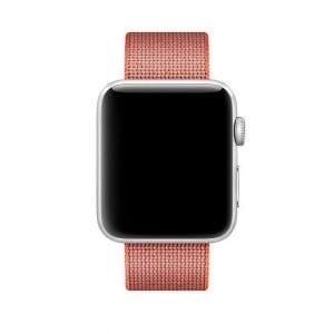 Nylon bandje voor de Apple Watch Space Orange-004