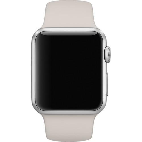 Rubberen sport bandje voor de Apple Watch 38mm S:M - Lavender-020