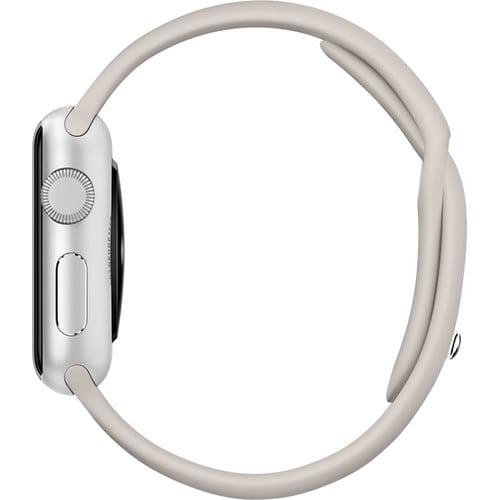Rubberen sport bandje voor de Apple Watch 38mm S:M - Lavender-023jpg