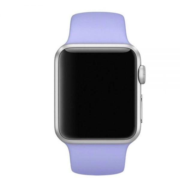 Rubberen sport bandje voor de Apple Watch Paars-102