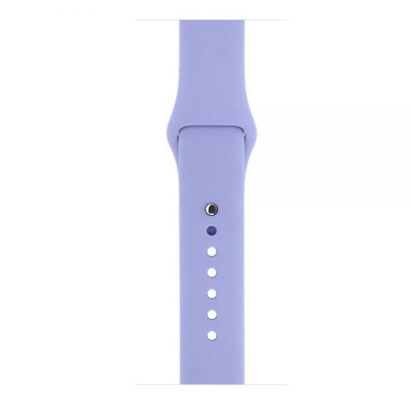 Rubberen sport bandje voor de Apple Watch Paars-103