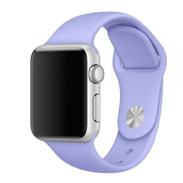 Rubberen sport bandje voor de Apple Watch Paars-104