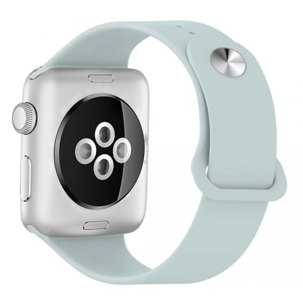 Rubberen sport bandje voor de Apple Watch Turquoise-102