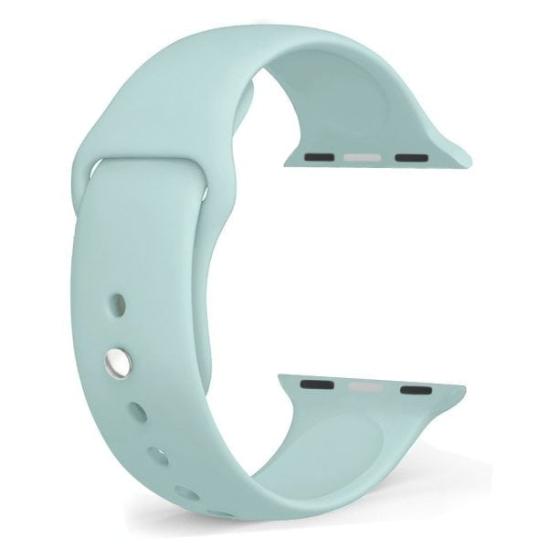 Rubberen sport bandje voor de Apple Watch Turquoise-104